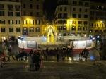 Fontana della Barcaccia dari tengah Spanish Step (lagi direnovasi)